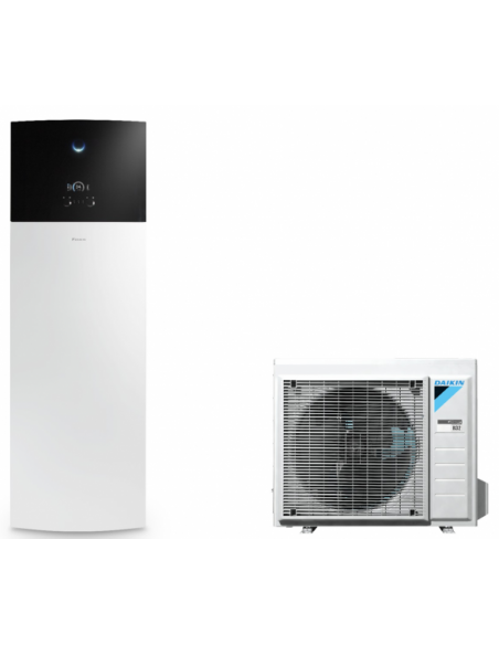 Version au sol Chauffage + ECS Version 1 Zone EHVH-D6V / ERGA-DV Daikin Altherma 3 Blanc