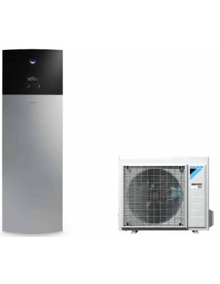 Version au sol Chauffage + ECS Version 1 Zone EHVH-D6VG / ERGA-DV Daikin Altherma 3 Gris